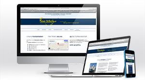 optimierte Internetpräsenz für iPhone, iPad und Desktop