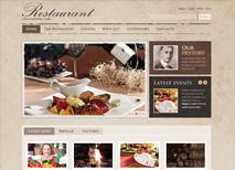 Beispiel für Restaurant-Website