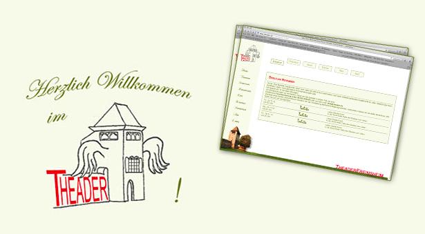 Internetseite Theader Freinsheim