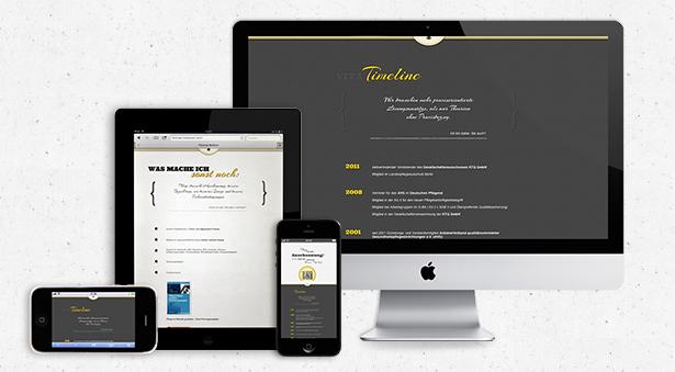 optimiert für iPad, mobile Anwendungen und Desktop-Bildschirme
