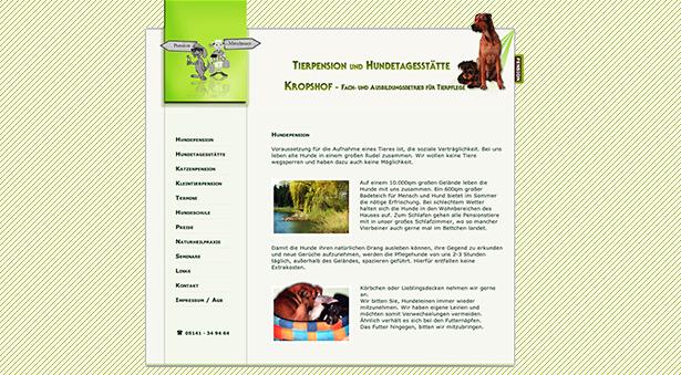 Startseite Tierpension Kropshof